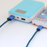 5V 2A 나일론은 Samsung 전화를 위한 8개의 Pin 번개 USB 케이블을 격리했다