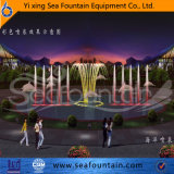 De Fontein van de Muziek van de Pool van het Water van het Roestvrij staal van de Fontein van het beeldhouwwerk