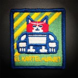 Stickerei Tiger Patch und Badges