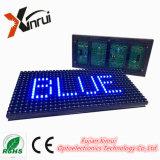 Sola visualización de pantalla azul del módulo del color P10 LED