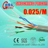 Kabel van uitstekende kwaliteit van het Netwerk UTP Cat5e van het Ijs de Standaard