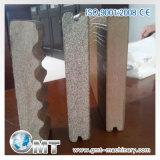 Espulsione di plastica di produzione della scheda della gomma piuma della crosta di WPC che fa la riga del macchinario