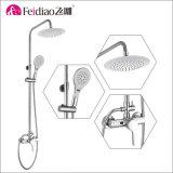 Moderner Entwurfs-heißer Verkaufs-einzelne Griff-Regen-Dusche-Spalte (mit Tülle)