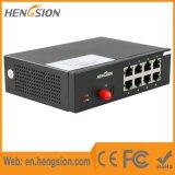 8 Tx en 1 Schakelaar van het Netwerk van Ethernet van de Haven van de Megabit Fx