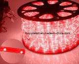 Luz de la cuerda del LED/luz de tira al aire libre de Light/LED/luz de neón/luz de la Navidad/luz del día de fiesta/luz del hotel/tira ligera del color verde 25LEDs el 1.6W/M LED de los alambres del redondo dos de la barra