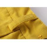 Il cotone normale giallo adatto del Regular di modo di Phoebee scherza gli Shorts per le ragazze