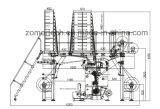Multibar 레이스에 의하여 전산화되는 날실 편물기 또는 자카드 직물 기계