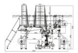 Multibar Lace computadorizado Warp máquina de tricô / Jacquard Machine