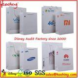 Sacs à provisions de papier de cadeau de traitement de qualité/sac promotionnels d'emballage