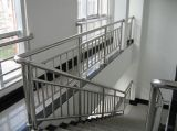 O melhor preço soldou o preço inoxidável da tubulação de aço do corrimão 304 da escada da tubulação de aço do revestimento do espelho