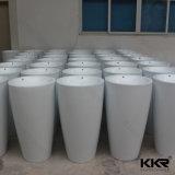 Corian feste freistehende Untersatz-Wannen-Oberflächenbassins