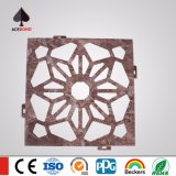 panneau décoratif découpé percé par aluminium de gravure de 1220mm*2440mm comme panneaux de mur
