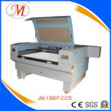 De automatische Scherpe Machine van de Laser voor Non-Metal Industrie (JM-1390t-CCD)