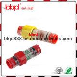 Connecteur imperméable à l'eau de fibre optique, connecteur Lbk14/10mm de Gasblock avec 2*Clips