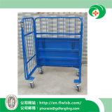 Складывая стальная вагонетка клетки для Ce Wih перевозки (FL-252)