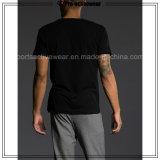Freies Beispielchina-Hersteller-kundenspezifisches Großhandelsgymnastikmens-Hemd