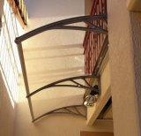 Tenda di plastica del policarbonato del baldacchino per la decorazione porta sul retro/delle entrate principali