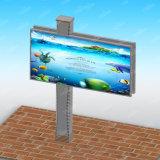 防水LEDによってバックライトを当てられる掲示板の屋外広告のボード