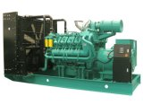 50Hz recipiente 900kVA Soundproof 720kw Genset Diesel com ATS