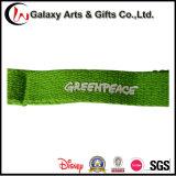Zoll gedruckte Firmenzeichen-Grün-Baumwollabzuglinie