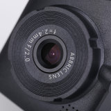 Cámara de vídeo de cámara del vehículo del registrador del tablero de instrumentos con 3m engomada del coche Negro Box dashcam