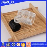 mini bottiglia di vetro sveglia 5ml con la bottiglia di olio essenziale di plastica del profumo del coperchio della vite
