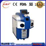 machine de soudure de tache laser De bijou de 200W YAG pour l'argent d'or