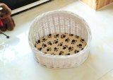 (BC-PK1021) Jaula hecha a mano pura del animal doméstico del sauce