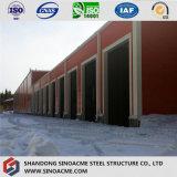 Il basso costo rapidamente ha costruito il magazzino/workshop prefabbricati con il comitato isolato
