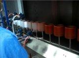 Línea de recubrimiento llave en mano de color automática de UV para piezas plásticas