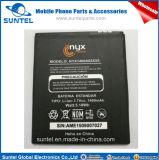 Nyx ensambla la batería recargable 3.7V del Li-ion del teléfono celular Nyx1400A65X55