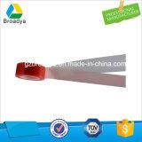 Trazador de líneas rojo de la película de la alta calidad cinta adhesiva del animal doméstico del poliester de 100 micrones (base solvente modificada cara doble)