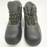 De zwarte Schoenen Ufa020 van de Veiligheid van de Katoenen Sbp Winter van Linning