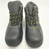 Schwarze Sbp BaumwolleLinning Winter-Sicherheits-Schuhe Ufa020