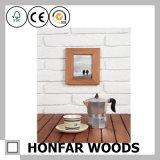 Frame de retrato da madeira contínua para a decoração Home