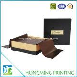 Regalo de lujo que empaqueta los rectángulos decorativos del chocolate