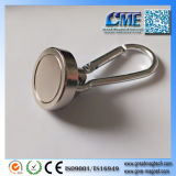 Amo magnetico dell'amo magnetico di Carabiner con Carabiner