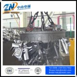 75%の使用率および1300kg持ち上がる容量の円の電磁石をMW5-120L/1-75持ち上げるスクラップ