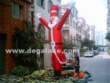 Danzatore gonfiabile gonfiabile il Babbo Natale del cielo del Babbo Natale Airdancing