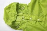 Polyester geprägter Allover Poncho für Erwachsenen