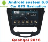 GPSの運行の日産Qashqai 2016年のアンドロイド6.0車のDVDプレイヤー