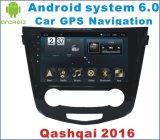 GPS 항법을%s 가진 닛산 Qashqai 2016년에서 인조 인간 6.0 차 DVD 플레이어
