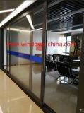 Vetro di alluminio Windows scorrevole di ultimo disegno e portelli con il prezzo di fabbrica