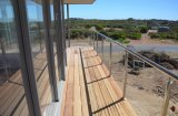316 het Traliewerk van de Leuning van de Balustrade van het roestvrij staal voor het Openlucht Schermen van het Balkon/van de Draad