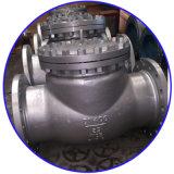 Válvulas de verificação rosqueadas do aço inoxidável