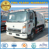 Sinotruk Camión de basura de 5 toneladas de HOWO 5 camiones de transporte de basura Cbm