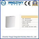쭈그리기 팬 (YZ1098)를 위한 잘 고정된 PP 화장실 물통