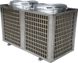 Pompa de calor aire-agua con el certificado del MCS