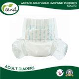 Pannolino Polytape del commercio all'ingrosso di qualità di assorbimento del pannolino dell'OEM alto del riassunto del Manufactory adulto del fornitore