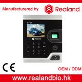 Realand TFT LCDカラースクリーンの生物測定の指紋のアクセス制御